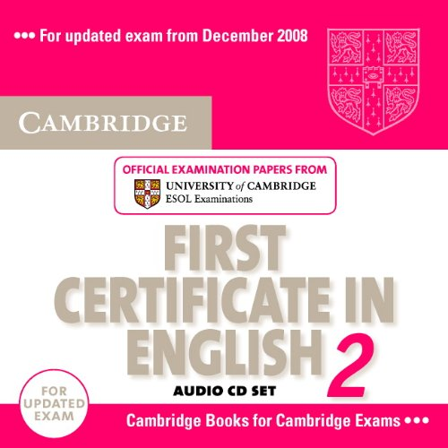 Cambridge First Certificate in English 2 for updated exam Audio CDs (2) (Лицензия)