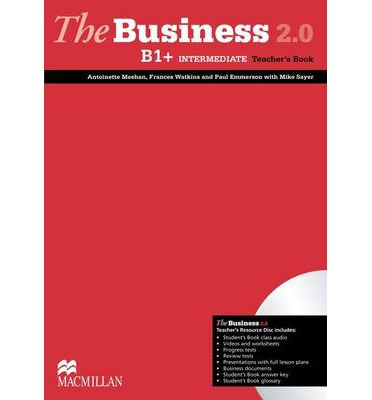 The Business 2.0 Intermediate B1+ Teacher's Book + Resource Disk