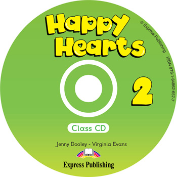 Happy Hearts 2 Class Audio CD