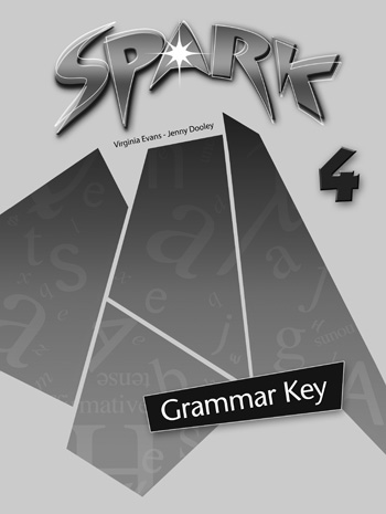 Spark 4 (Monstertrackers) Grammar Book Key