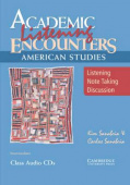 Academic Listening Encounters: American Studies Class Audio CD(3)
