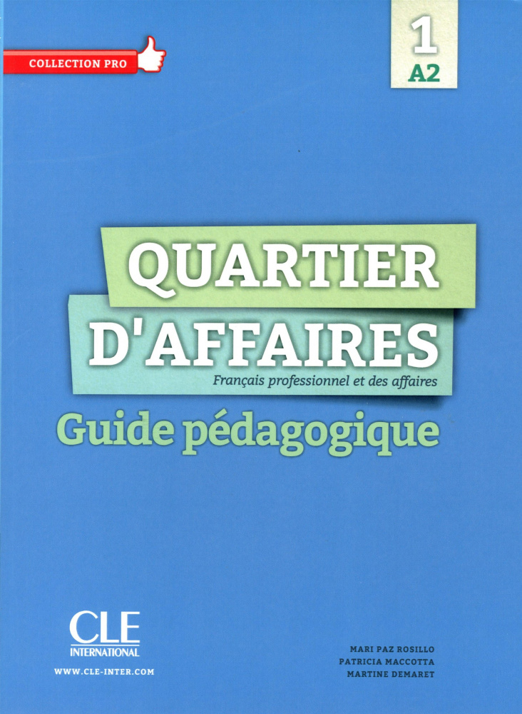 Quartier d'affaires 1 (A2)  Guide pedagogique