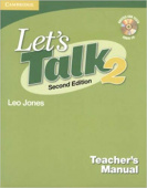 Let's Talk 2 Teacher's Manual with Audio CD