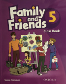 Family and Friends 5 Class Book with Student's Site