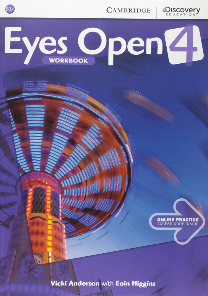 Eyes Open 4 Workbook with Online Practice