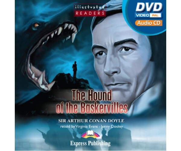 Illustrated Readers Level 2 The Hound of the Baskervilles. DVD Video. PAL