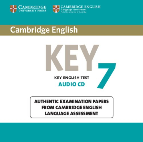 Cambridge English Key 7 Audio CD