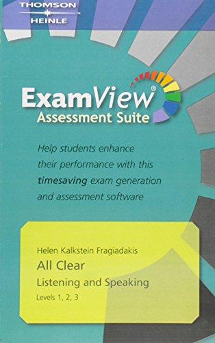All Clear 1-3 ExamView CD-ROM