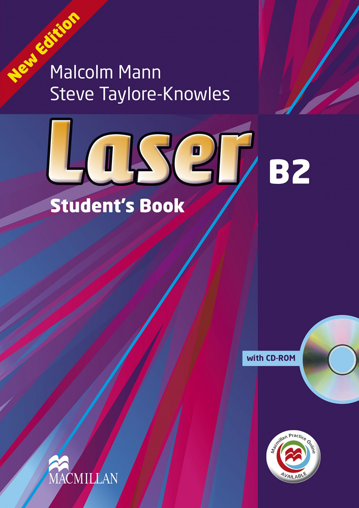 Laser Third Edition B2 Student's Book and CD ROM Pack + MPO