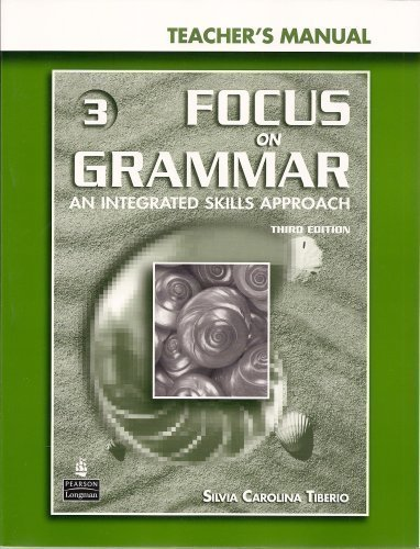 Focus on Grammar 3rd Edition Level 3 Teacher's Manual + CD-ROM