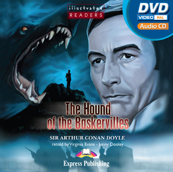 Illustrated Readers Level 2 The Hound of the Baskervilles multi-ROM (Audio CD / DVD Video PAL)