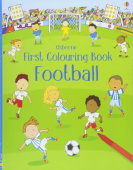 First Colouring Book Football