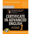 Cambridge Certificate in Advanced English 1 for updated exam