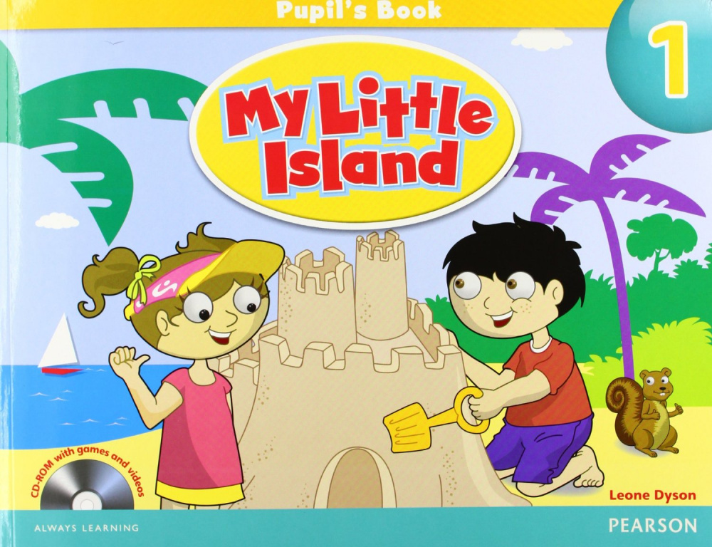 My Little Island Level 1 Pupil's Book with CD-ROM