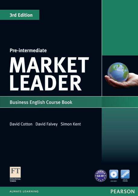 Market Leader 3rd Edition Pre-Intermediate Coursebook and DVD-ROM Pack