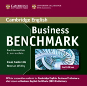 Business Benchmark 2nd edition Pre-intermediate to Intermediate Business Preliminary Class Audio CDs (2)