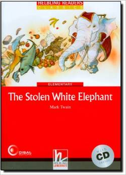 Red Series Classics Level 3: The Stolen White Elephant + CD