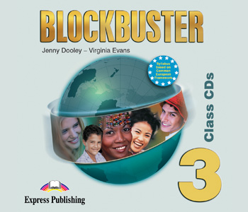 Blockbuster 3 Class Audio CDs (set of 4)