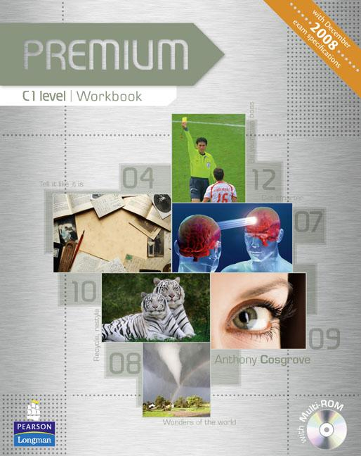 Premium C1 Workbook (without Key) with Multi-ROM