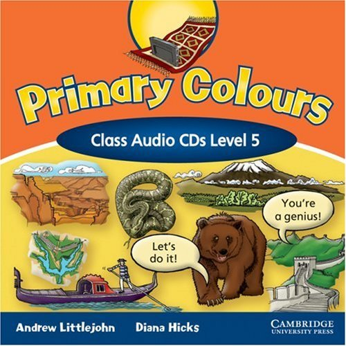 Primary Colours 5 Class Audio CDs (2) (Лицензия)