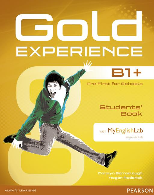 Gold Experience B1+ Students' Book with DVD-ROM and MyEnglishLab