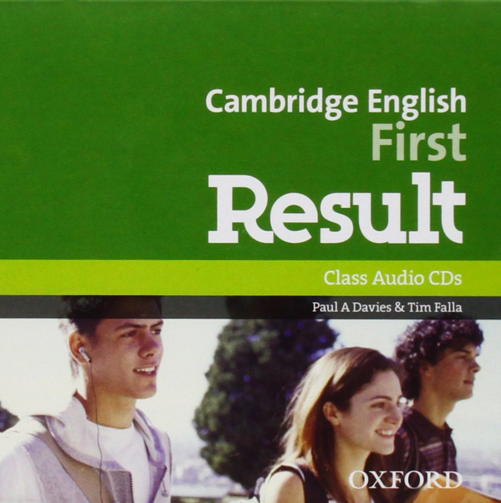 Cambridge English First Result Class Audio CDs