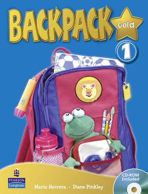 Backpack Gold Level 1 Students' Book (with CD-ROM)