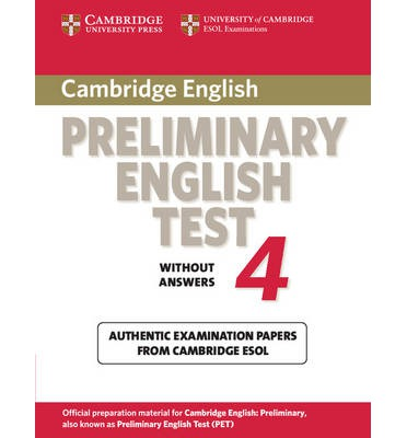 Cambridge Preliminary English Test 4 Student's Book