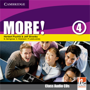 More! Level 4 Class Audio CDs (2) (Лицензия)