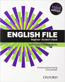 English File Third Edition Beginner Student's Book with Student's Site and Online Skills Pack
