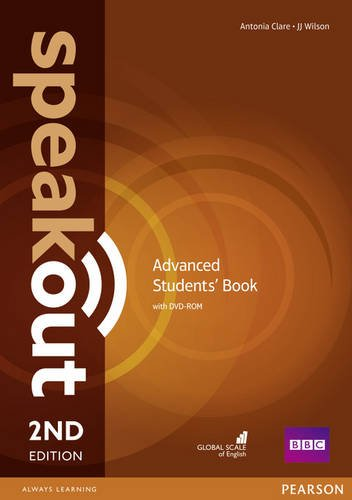 Speakout Second Edition Advanced Students' Book with DVD