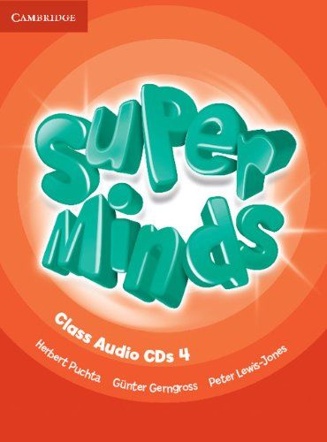 Super Minds Level 4 Class Audio CDs (4) (Лицензия)