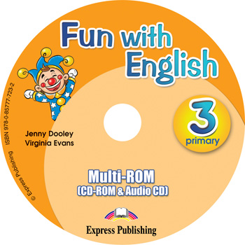 Fun with English 3. Primary. multi-ROM (CD-ROM & Audio CD )