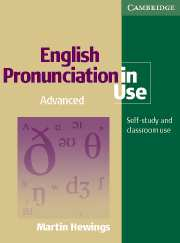 English Pronunciation in Use Advanced Book with answers