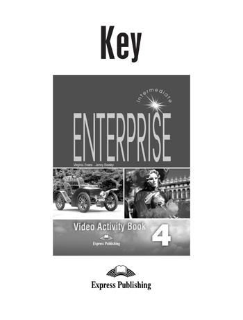 Enterprise 4  Video Activity Book Key