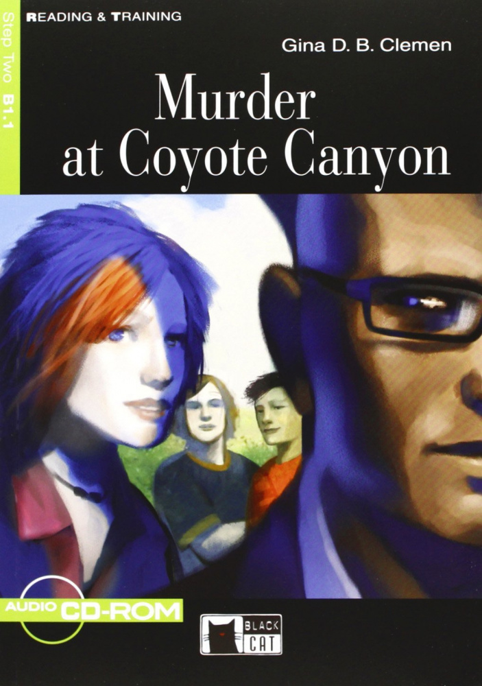 Reading & Training Step 2:  Murder at Coyote Canyon + CD-ROM