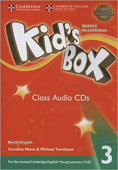 Kid's Box Updated edition 3 Class Audio CDs (3)