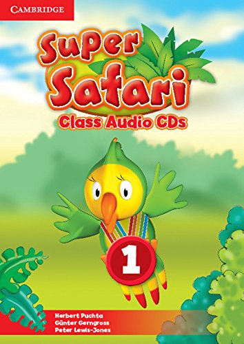 Super Safari 1 Class Audio CDs (2) (Лицензия)