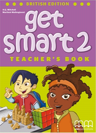 Get Smart British Edition 2 Teacher's Book with reduced-size student's pages, also including tests