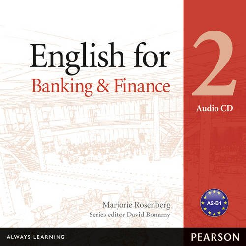 Vocational English Level 2 (Pre-intermediate) English for Banking and Finance Audio CD