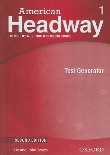 American Headway Second Edition 1 Test Generator CD-ROM
