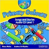 Primary Colours 1 Songs & Stories Audio CD