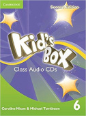 Kid's Box Second Edition 6 Class Audio CDs (4)
