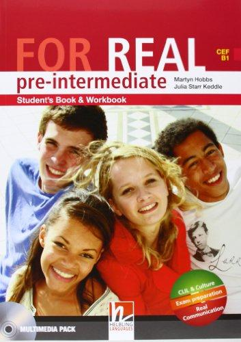 For Real Pre-Intermediate Student's Pack (SB + WB) with CD/CD-ROM