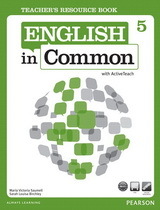 English in Common 5 Teacher's Resource Book with ActiveTeach
