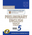 Cambridge Preliminary English Test 5