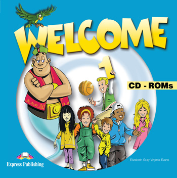 Welcome 1 CD-ROMs (set of 4)