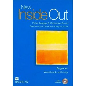 New Inside Out Beginner Workbook with key + Audio CD Pack