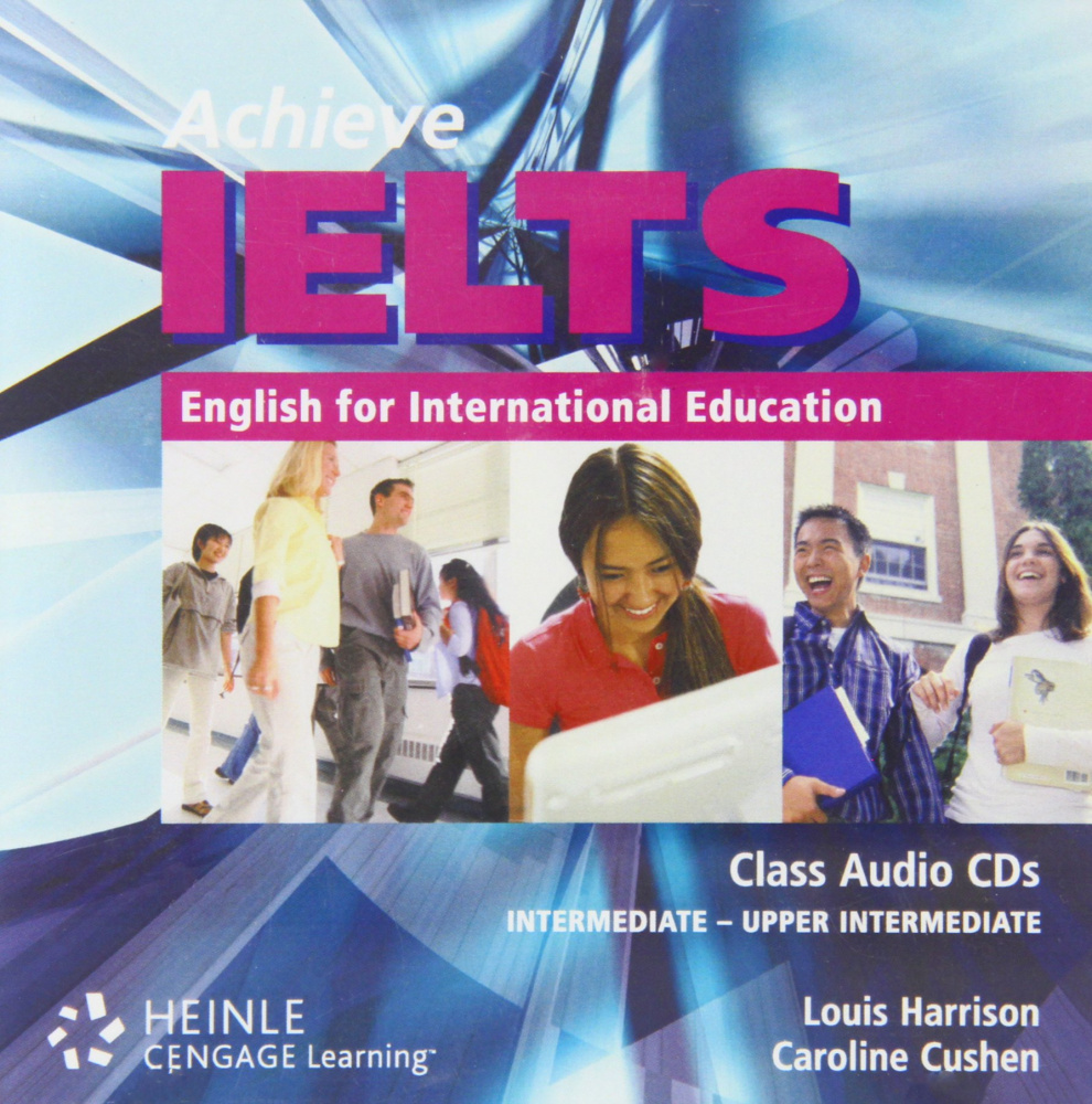 Achieve IELTS Level 1 band 4.5 - 6 Class Audio CD (2)  Intermediate to Upper Intermediate