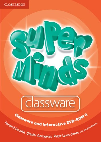 Super Minds Level 4 Classware and Interactive DVD-ROM